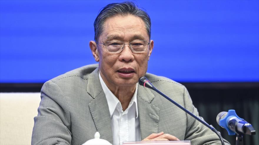 El especialista respiratorio chinoZhongNanshan.