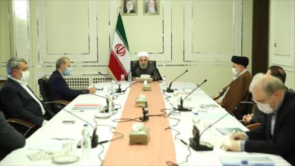 Irán sigue con mucha firmeza su lucha contra el coronavirus