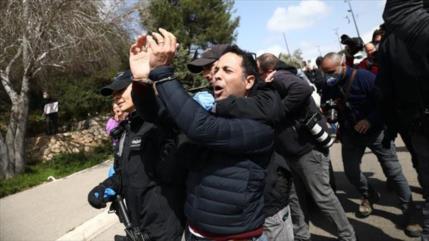 Israelíes protestan contra medidas dictatoriales de Netanyahu