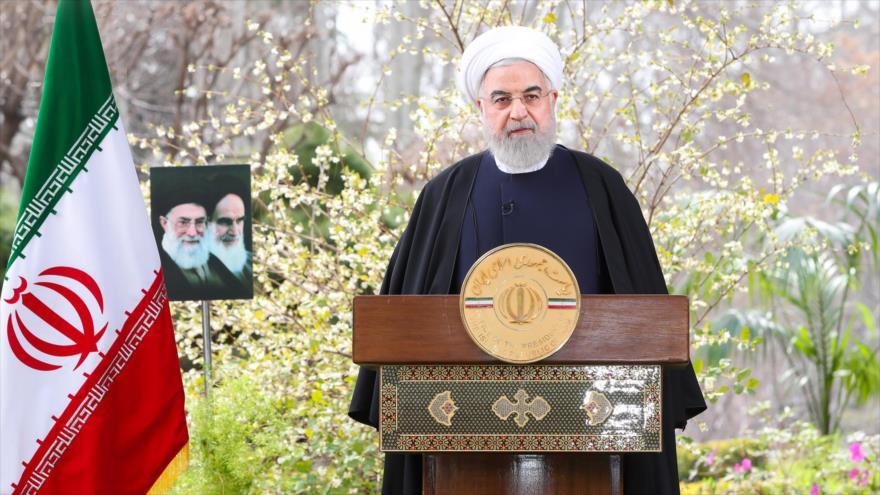 Presidente Rohani dice que 1399 será el año de la prosperidad para Irán