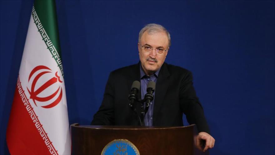 El ministro de Salud de Irán, Said Namaki.
