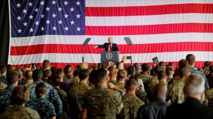 Planes secretos del Ejército si Trump es tumbado por el COVID-19