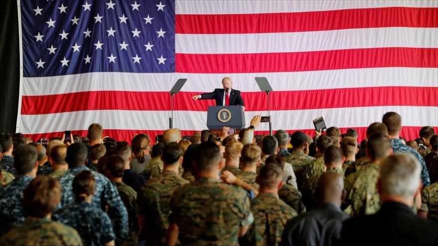 Planes secretos del Ejército si Trump es tumbado por el COVID-19 | HISPANTV