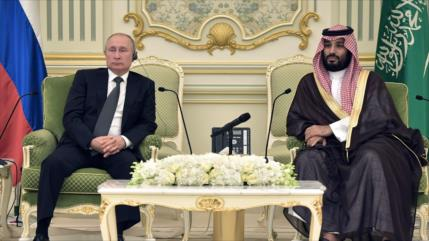 "Putin no sucumbirá al ""chantaje"" petrolero de Arabia Saudí"