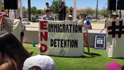 Piden liberación de migrantes detenidos en EEUU por el COVID-19