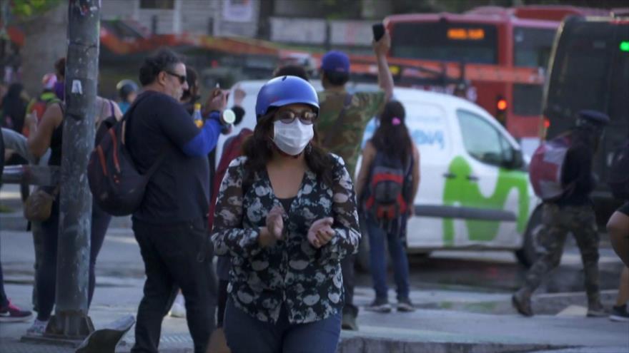 Chilenos siguen con sus protestas contra Sebastián Piñera | HISPANTV