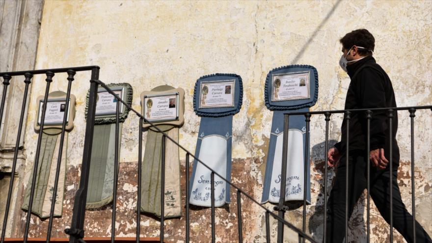 Italia registra 793 muertos sólo en un día por coronavirus | HISPANTV