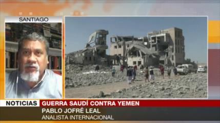 Jofré: Aliados de Riad buscan invisibilizar la agresión a Yemen