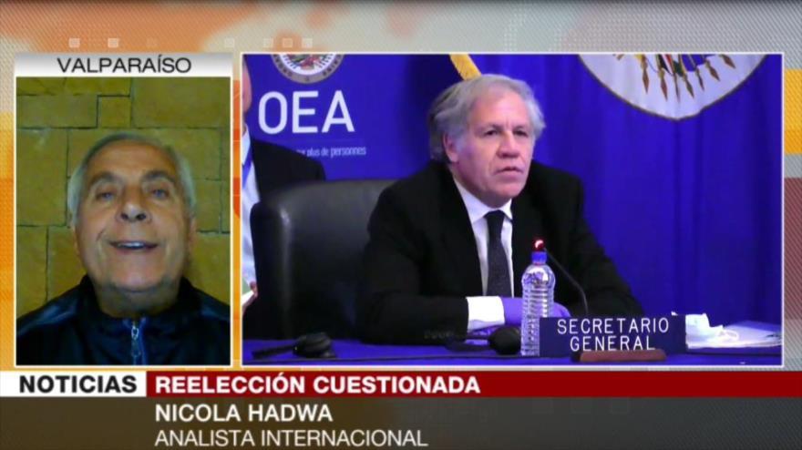 """Hadwa: Luis Almagro es """"agente de inteligencia"""" de EEUU"""