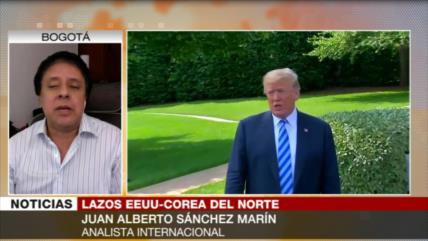 Marín: Propuesta de Trump a Kim es tramposa y oportunista