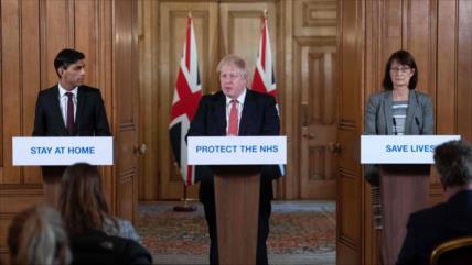 Johnson: Sanidad británica podría quedar abrumada por coronavirus