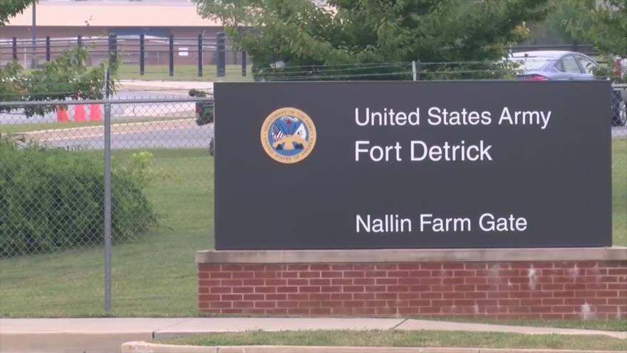 Fort Detrick, una instalación del Comando Médico del Ejército de Estados Unidos ubicada en Frederick, Maryland.