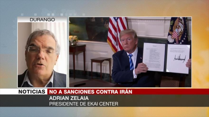 Zelaia: Oferta de ayuda de EEUU sin levantar sanciones es un gesto