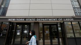 Economía de EEUU cae más rápido de lo previsto por coronavirus