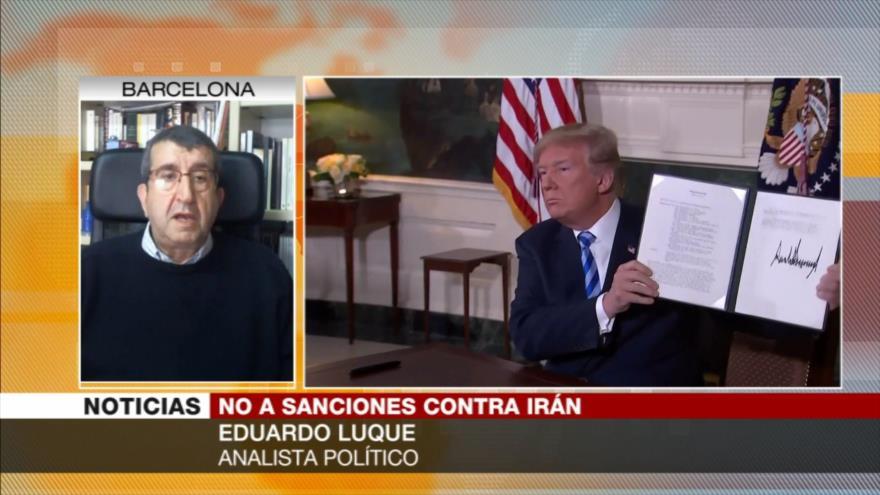 Luque: EEUU ofrece ayuda a Irán para poder monitorear y controlarlo
