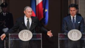 """""""Rusia no busca canjear ayuda a Italia con un alivio de sanciones"""""""