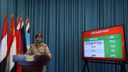 Yemen azotó a agresores con 5278 ataques desde marzo de 2015
