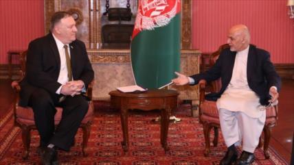 Pompeo llega a Afganistán para salvar el acuerdo con los talibanes