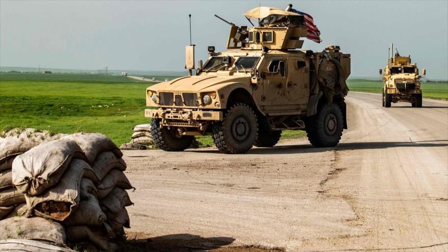 Ejército sirio impide paso de convoy militar de EEUU en Al-Hasaka | HISPANTV