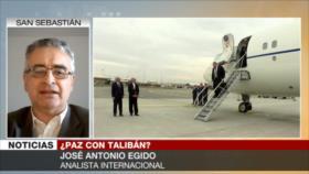 Egido: EEUU romperá acuerdo con Talibán para seguir en Afganistán