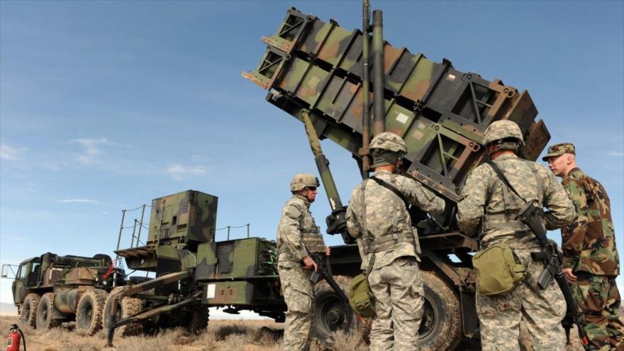 El sistema antimisiles Patriot de Estados Unidos.