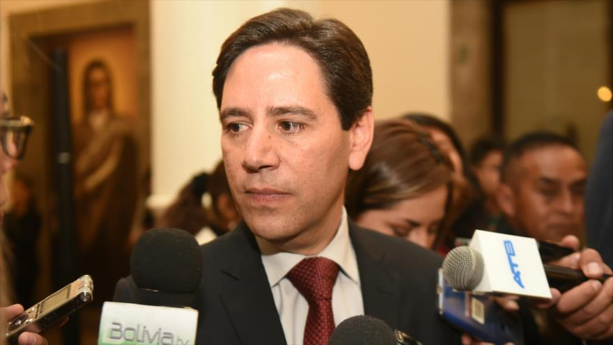 El presidente del Tribunal Supremo Electoral (TSE) de Bolivia, Salvador Romero.