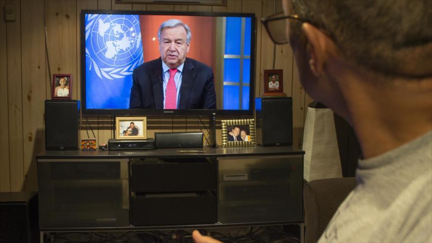ONU pide alto el fuego en todo el mundo para combatir el COVID-19 | HISPANTV