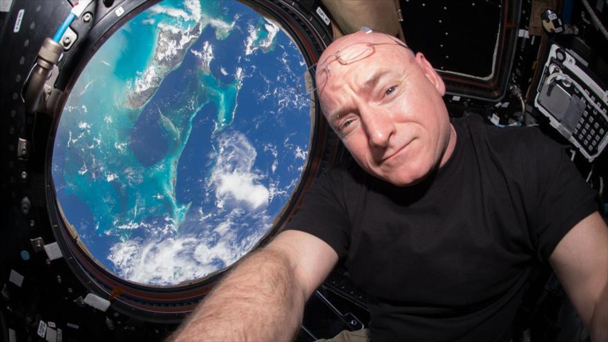El astronauta Scott Kelly vivió casi un año en la Estación Espacial Internacional (EEI).