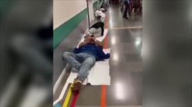 Vídeo: Un hospital de España colapsado con casos de coronavirus
