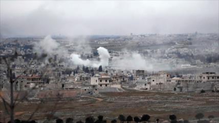 Ejército sirio devuelve el golpe de terroristas proturcos en Idlib