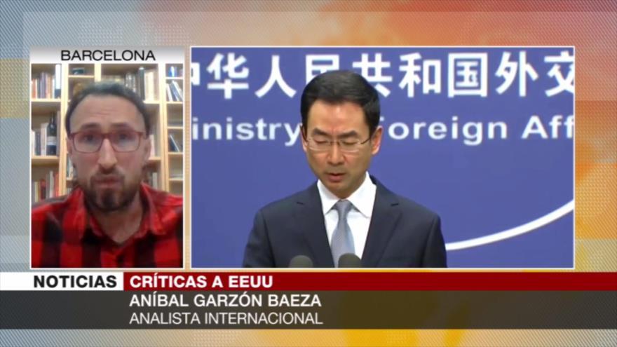 Garzón: COVID-19 ha potenciado la imagen global de China ante EEUU