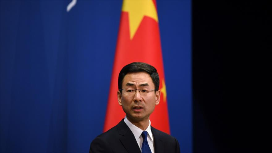 China insta a EEUU a cesar uso político de crisis por COVID-19 | HISPANTV