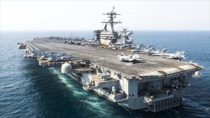 Marineros de EEUU en portaviones Roosevelt dan positivo en COVID-19