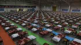 Ejército de Irán abre hospital de campaña en 48 horas por COVID-19