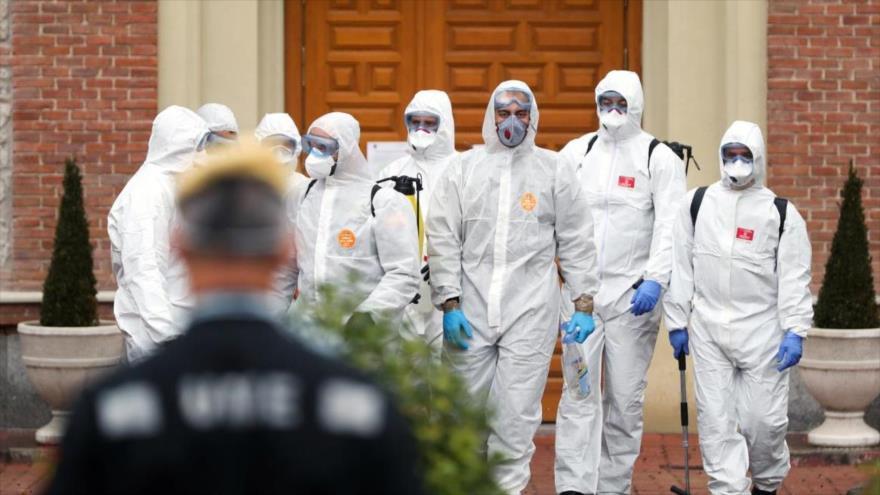 España supera a China en muertos por COVID-19 con 3434 fallecidos | HISPANTV