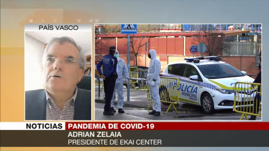 Zelaia: China está mucho mejor preparada ante COVID-19 que Europa
