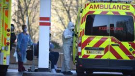 'Tsunami continuo' del COVID-19 colapsa los hospitales de Londres