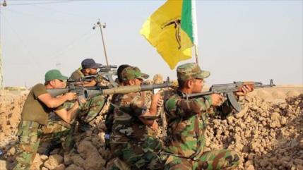 Hezbolá iraquí realiza maniobra militar para prepararse ante EEUU