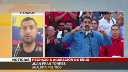 """""""EEUU acusa a Maduro con objetivo de intervenir en Venezuela"""""""