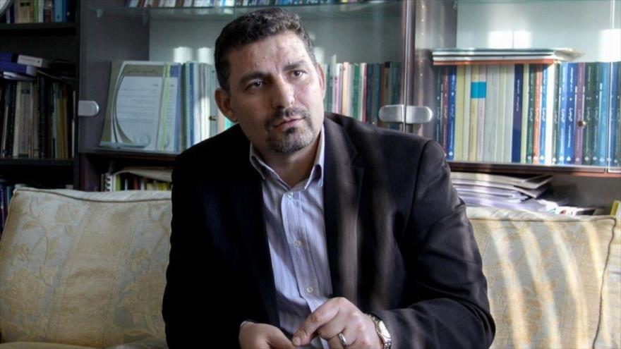 El portavoz de la misión iraní ante la Organización de las Naciones Unidas (ONU), Alireza Miryusefi.