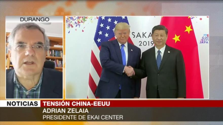 Zelaia: EEUU defiende su hegemonía, incluso en medio del COVID-19
