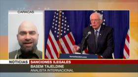 Tajeldine: Sanciones de EEUU son un crimen de lesa humanidad