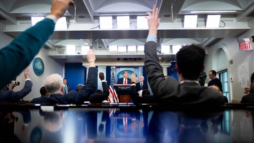 EEUU aprovecha COVID-19 para materializar sus objetivos políticos | HISPANTV