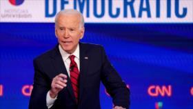 Biden urge a Trump a priorizar la crisis sanitaria sobre la economía