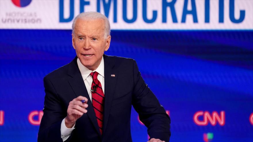 Biden urge a Trump a priorizar la crisis sanitaria sobre la economía   HISPANTV