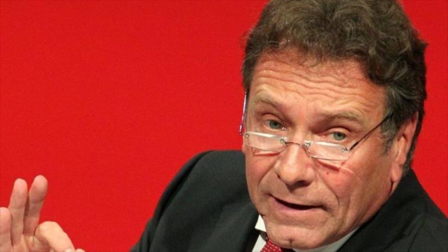 El jefe del Comité de Economía y Energía del Parlamento alemán, Klaus Ernst.