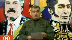Fuerzas Armadas de Venezuela reafirman su lealtad a Maduro