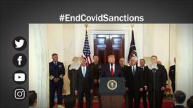 Etiquetaje: En medio de brote de COVID-19, EEUU no deja sanciones