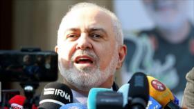 """Irán llama a no apoyar """"terrorismo médico"""" de EEUU en su contra"""