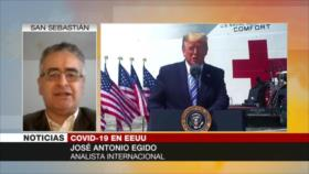 'Trump trata de salvar la economía en vez del pueblo ante COVID-19'